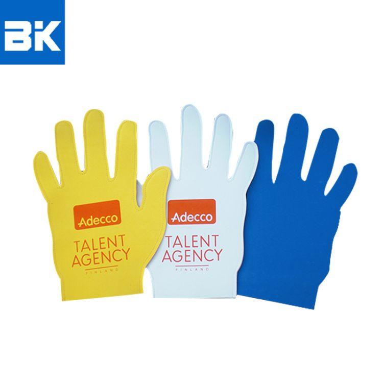 厂家批发EVA啦啦队手掌道具 EVA啦啦队助威手套加油手套 手感舒适