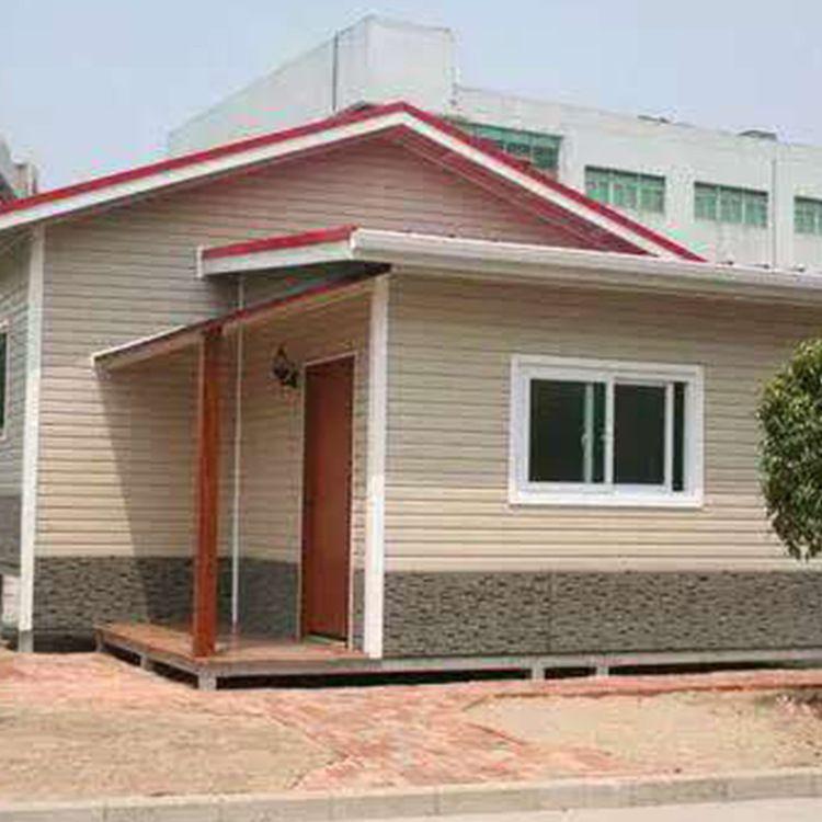 大量生产 可批发 豪华别墅集装箱外墙烤漆板豪华别墅集装箱活动房