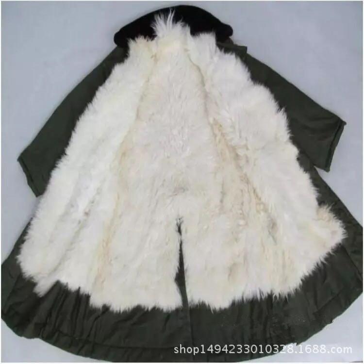 澳洲厂家销售羊剪绒 羊皮质量 保暖大衣 邦皮世皮毛一体军大衣