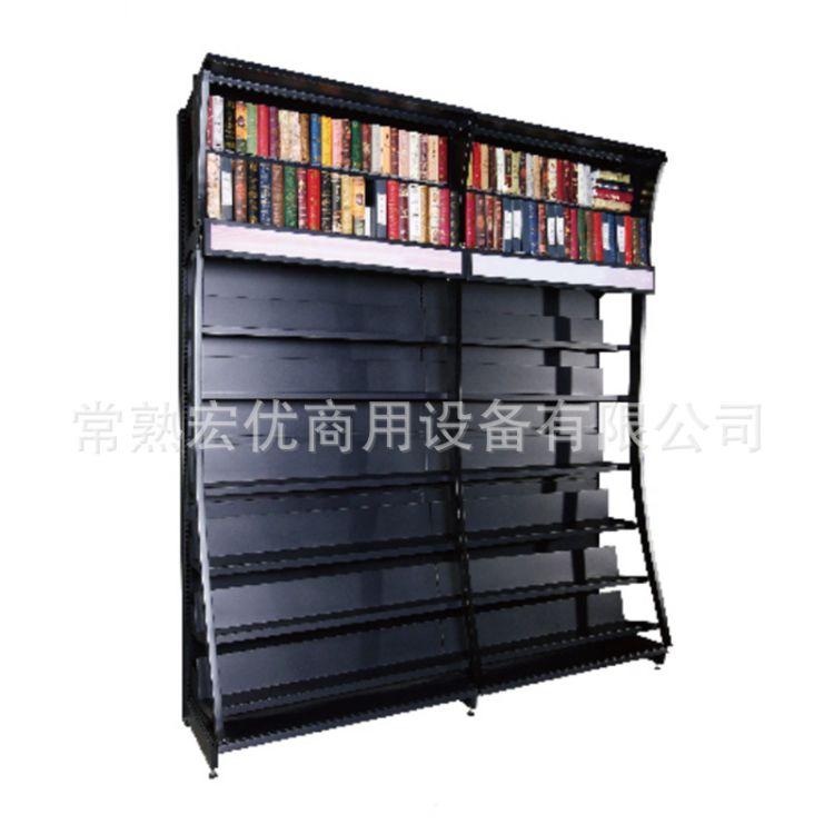 厂家直销图书阅览架简约超市图书货架展示架书房阅览室图书管理架