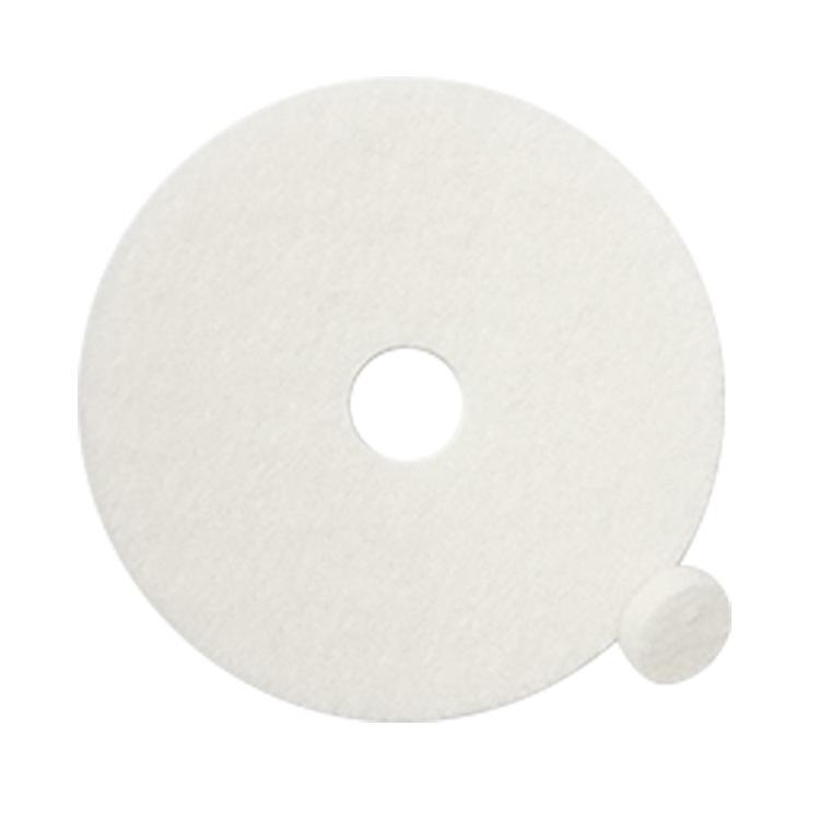 厂家直销白色百洁垫清洁垫洗地机刷地机抛光布地板清洁17寸20寸