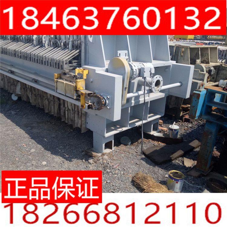 转让二手压滤机 二手京津隔膜自动拉板压滤机 污水处理设备