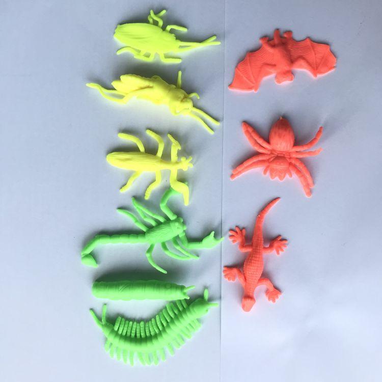 软料昆虫类配件 沙皮胶 水晶泥 棉花泥 各种配件 海洋动物 外星人