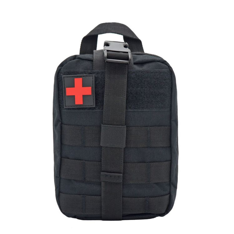 户外医疗包急救救生包 尼龙防水MOLLE附件收纳腰包 军迷战术包