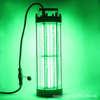 大功率超亮防水2000W绿色LED诱鱼灯 海洋捕鱼集鱼灯