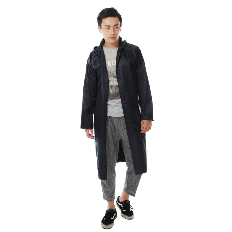 新款连体雨衣雨披 时尚成人防水加厚大衣 PVC户外雨衣 厂家货源