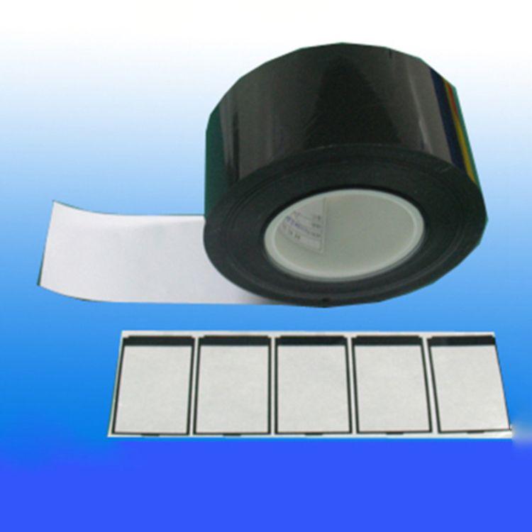 厂家直销黑色遮光胶带 LCD专用PET遮光 LED边框黑色双面胶带