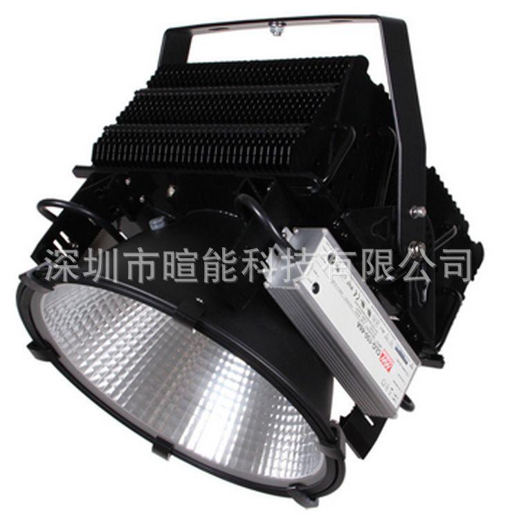 新款500W大功率LED高杆灯冲击炮塔吊灯LED探照灯球场远距离照射