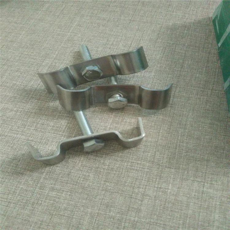 专业生产玻璃钢格栅固定卡子配件格栅连接件L型M型C型不锈钢卡子欢迎来电