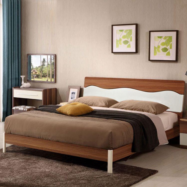 佛山厂家特价批发酒店宾馆床卧室家具北欧高箱储物床成套家具包邮