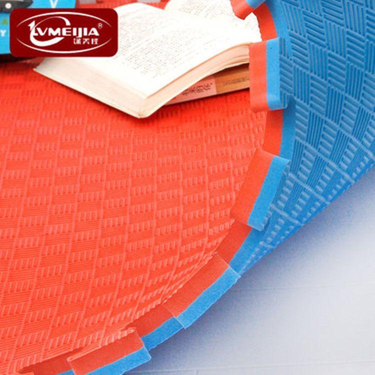 绿美佳eva泡沫地垫加厚防滑五道纹跆拳道垫1米2.5cm厂家直销