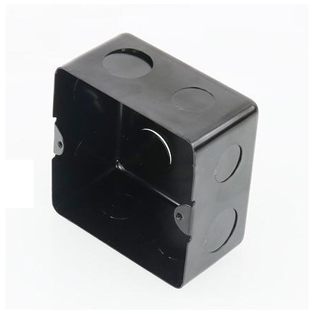 厂家直销地插底盒暗盒金属地面暗盒实用便捷高强度型地插底盒批发