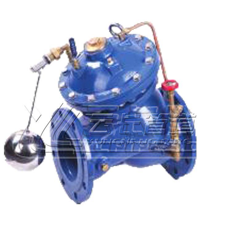 迈克 沪航阀门 100x遥控浮球阀 SK745X多功能水泵控制阀 质量精选