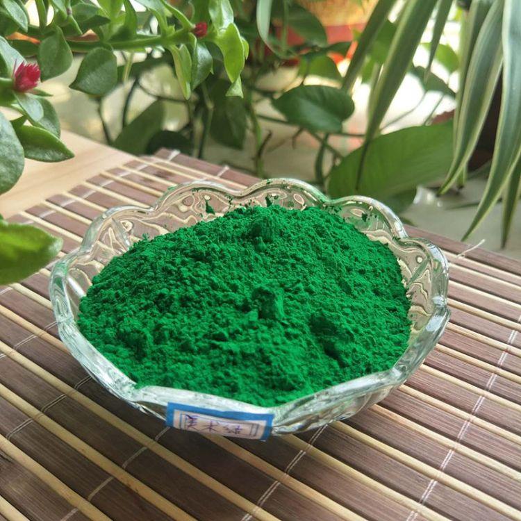 厂家生产氧化铁颜料 墙体颜料美术绿 广告绿 塑料橡胶专用涂料