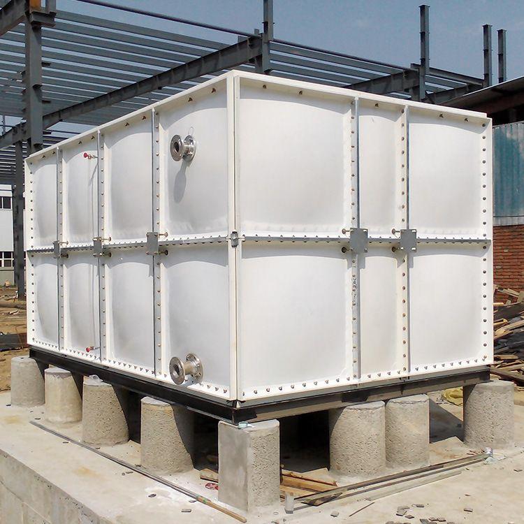 玻璃钢SMC水箱 组合式抗腐蚀玻璃钢消防水箱 厂家直供