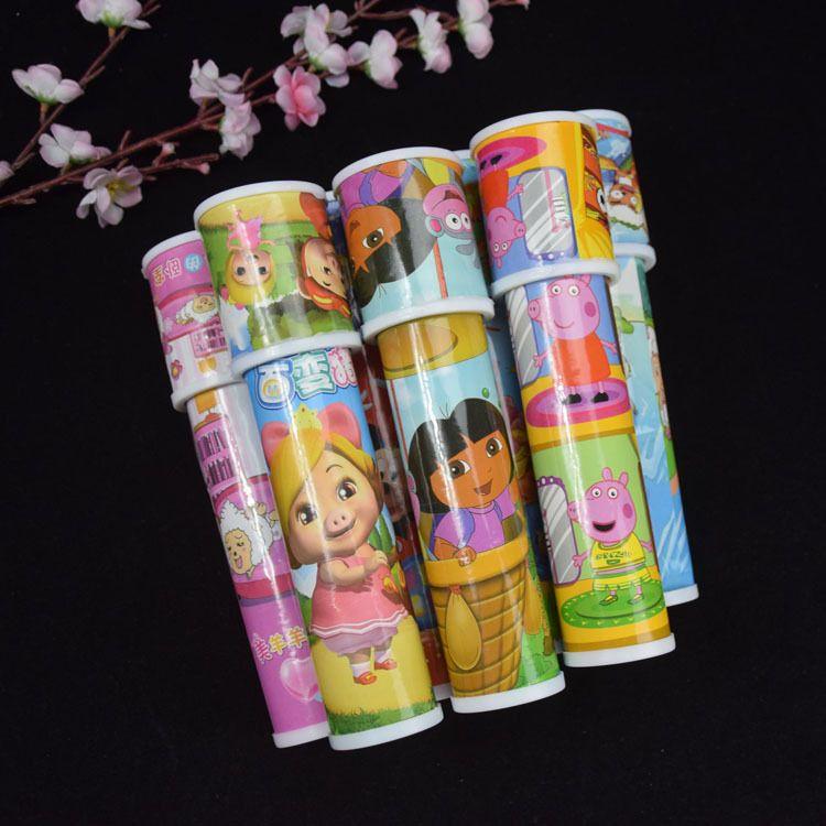 地摊热销儿童旋转万花筒 亲子互动玩具益智怀旧玩具十元店