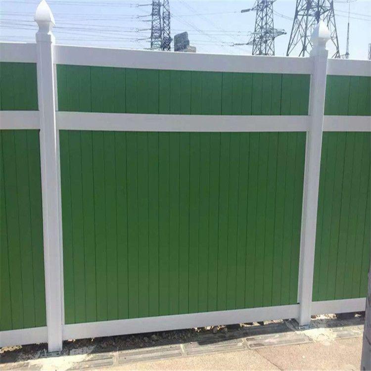 厂家施工夹心板围栏供应可移动护栏PVC市政工程围挡规格齐全