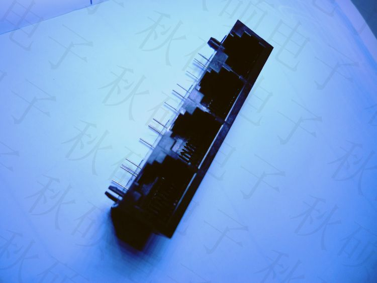 RJ45网络接口 8P4C 1*4 网络接口插座 RJ45