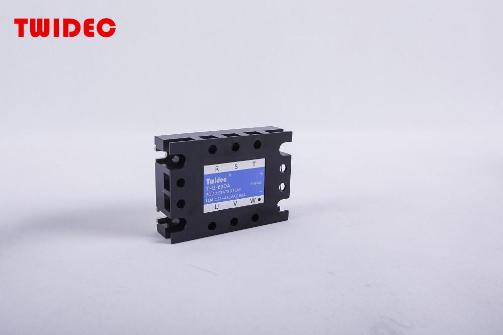 TWIDEC合泉三相固态继电器TH3系列--TH3-60DA ,60A三相SSR