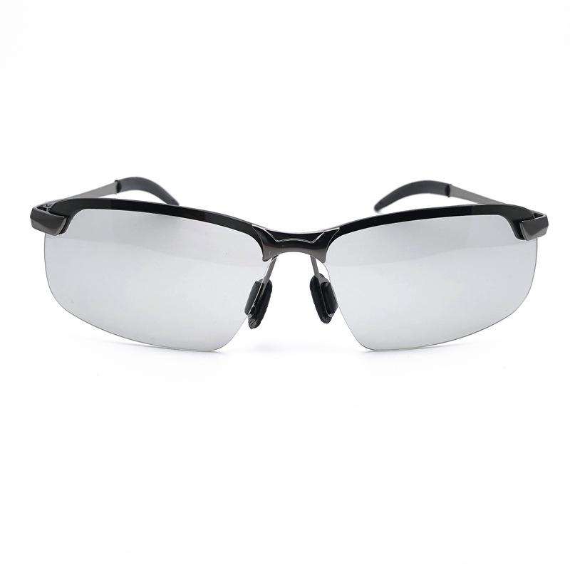 厂家直销3043男士偏光变色太阳镜骑行钓鱼开车驾驶镜全天候眼镜