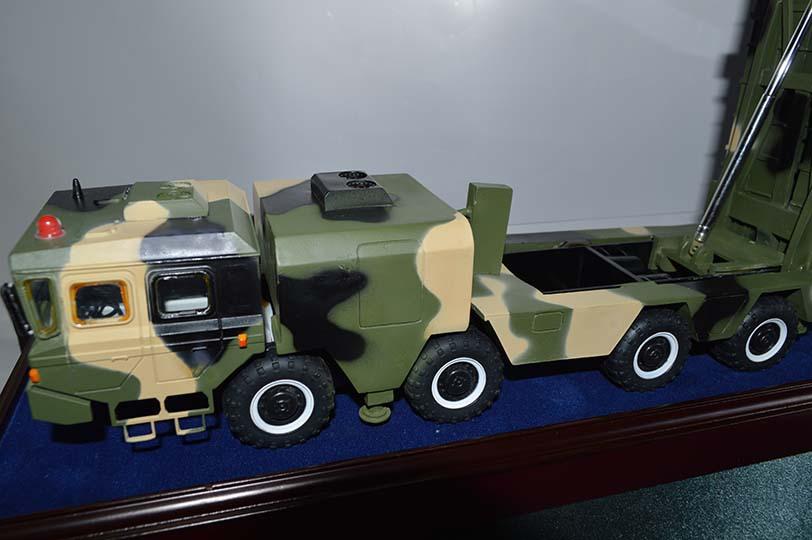 供应神鹰400制导火箭炮模型合金仿真 军事模型批发定制
