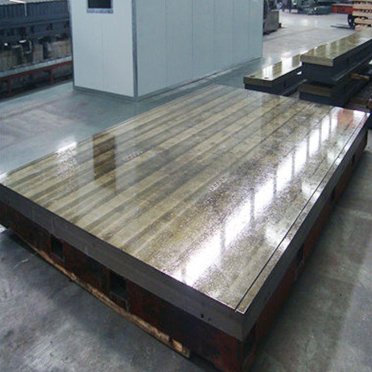 新航定制批发 划线平台 1500*2000焊接划线工作台 铸铁钳工检验平板