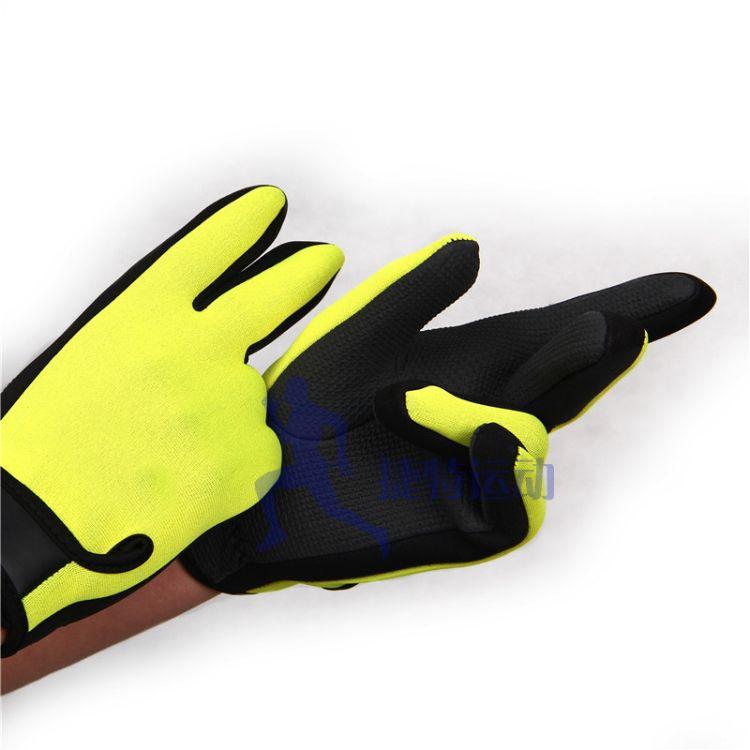 厂价直销男女潜水保暖手套 潜水料钓鱼浮潜平车手套防滑儿童手套