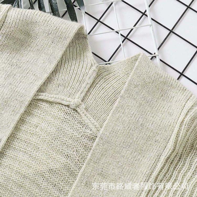 2018年冬季 长袖开衫 秋冬新款 羊毛衫 厂家定制