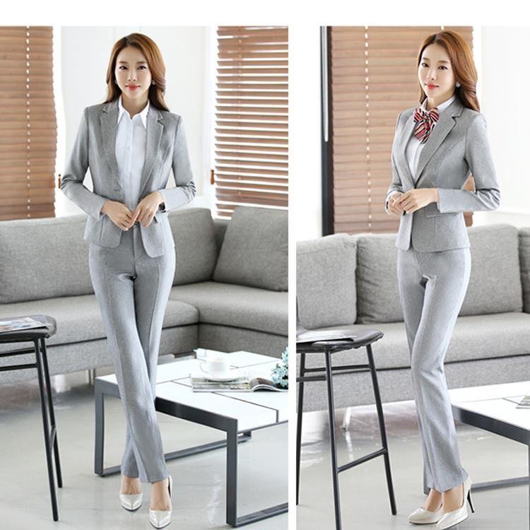 厂家直销秋季女式商务修身显瘦套装白领职业女装量身定做工作西服
