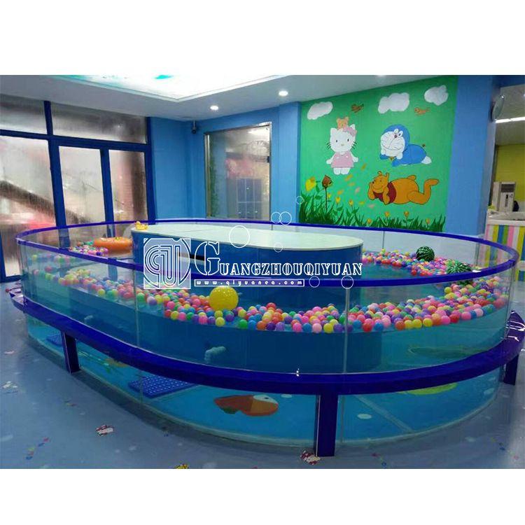 环岛漂流池婴儿游泳馆 婴儿泳池The baby pool婴儿水疗馆设施器材