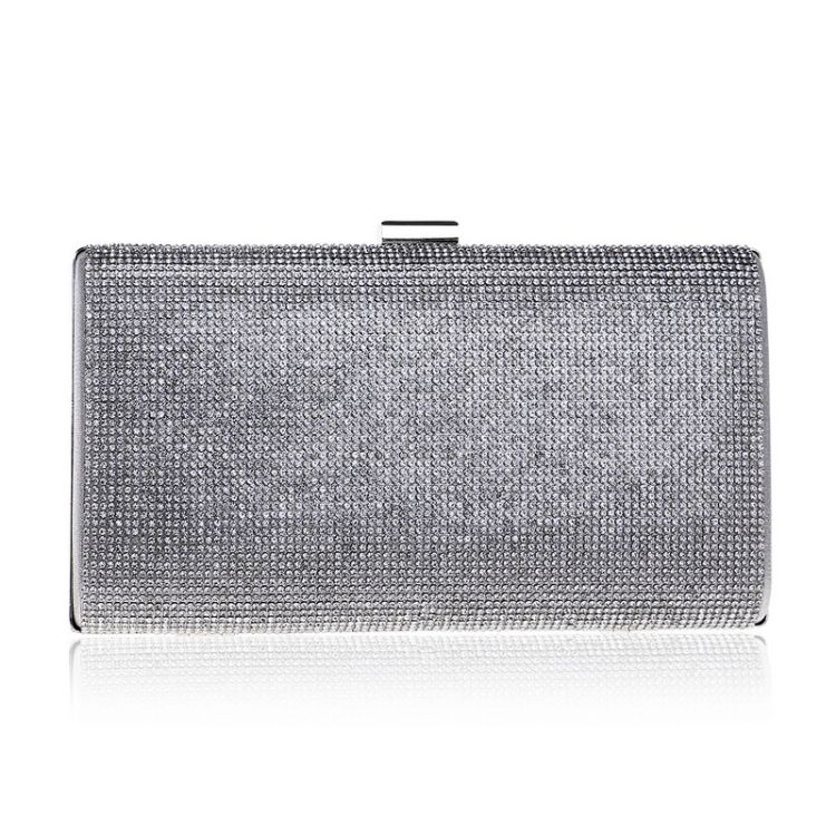 跨境新款盈幂亚马逊ebay外贸女士晚宴包水钻礼服晚装包手拿包