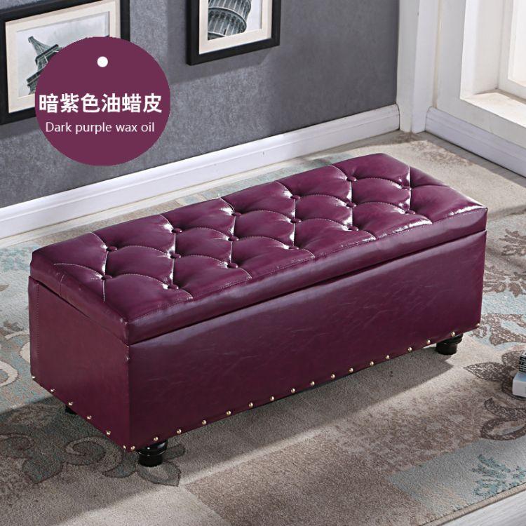 鞋店试鞋凳储物凳可坐门口换鞋凳多功能成人皮墩子服装店沙发凳