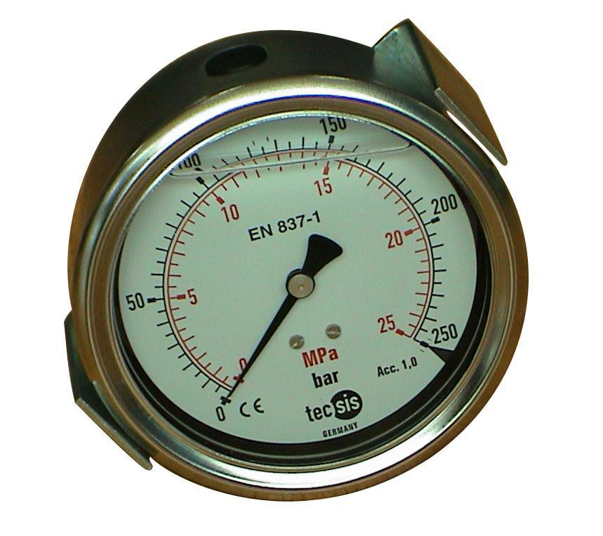 现货直供机械压力表质量保障 上海厂家出售品牌压力表 上海普中