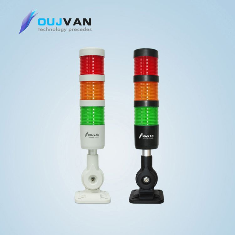 LED机床灯_设备三色警示灯_三色塔灯_优质24V三色LED灯厂家直销