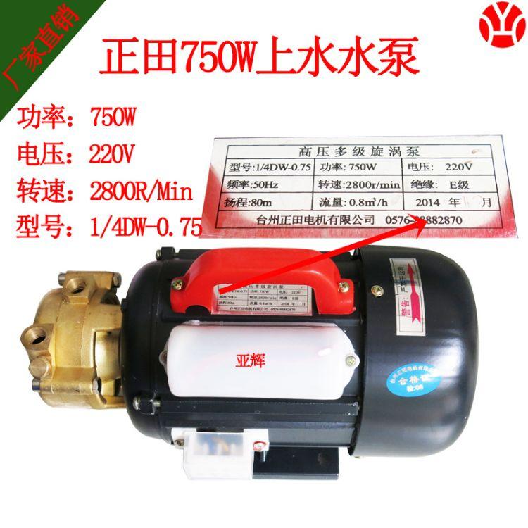 正田750W旋涡泵 蒸汽发生器水泵