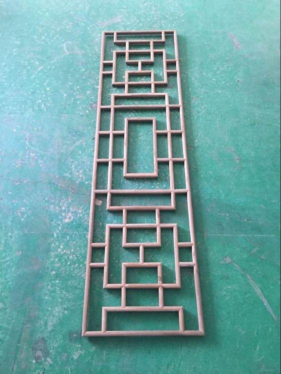 厂价直销实木花格隔断 中式吊顶 镂空木雕中式仿古屏风 玄关门窗