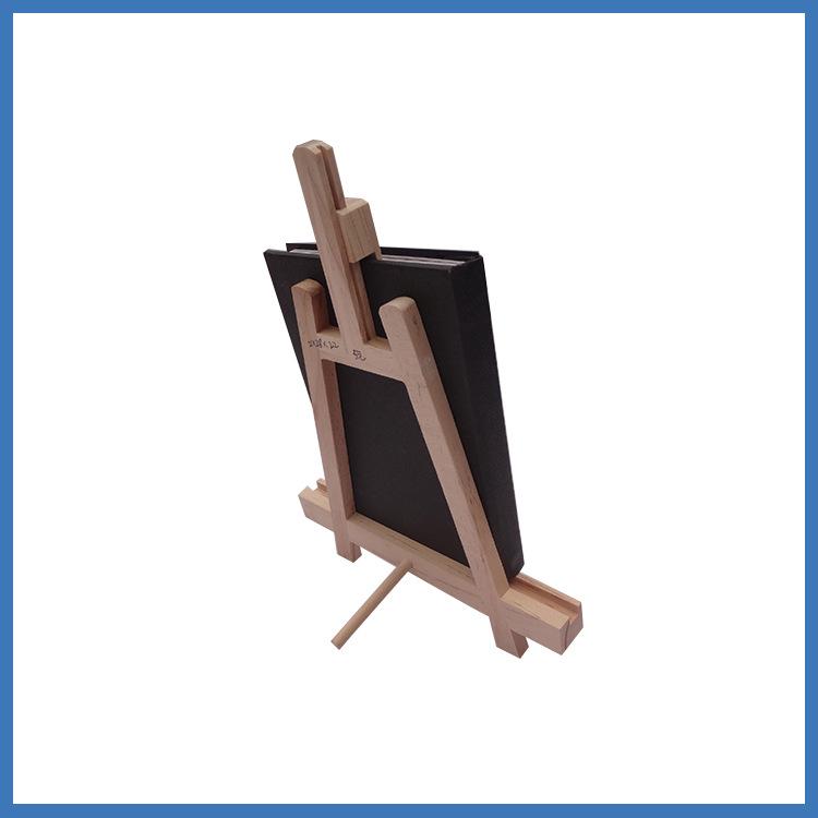 厂家直销懒人简易手机支架木制辐射松相册安置三角支架批发定制