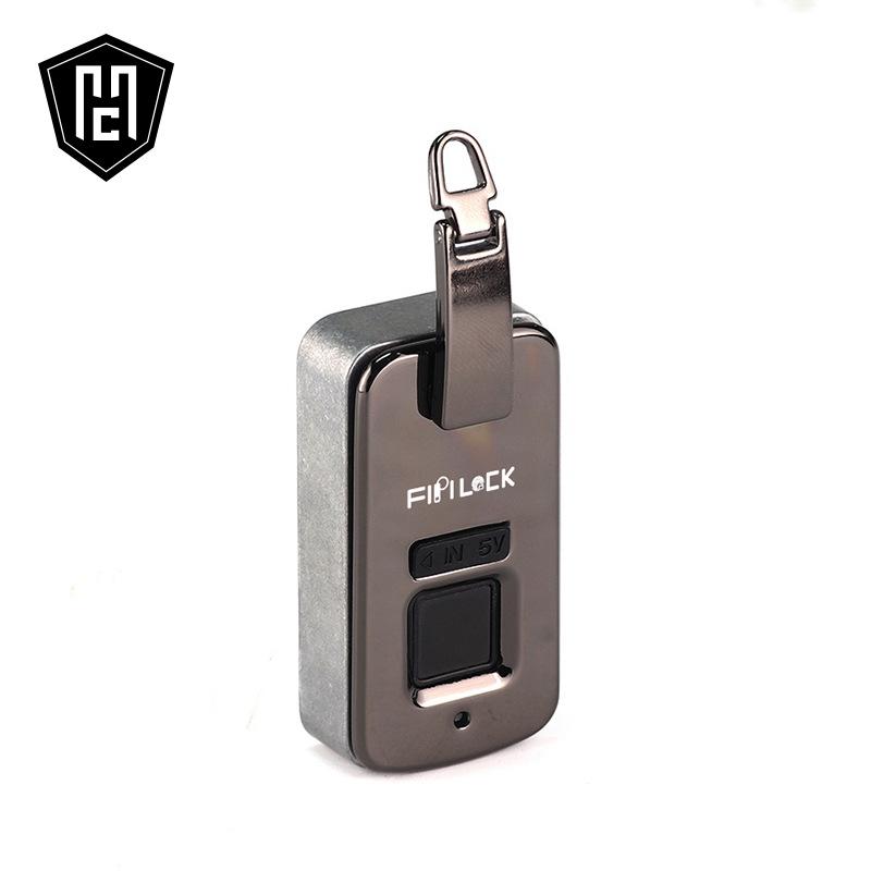 高级定制箱包指纹锁 创新嵌入式皮包指纹锁