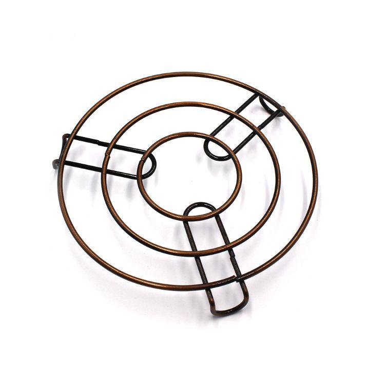 厨房高脚蒸架 不锈钢金属 DIY微波窑炉 隔热架微波配件