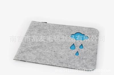 热销笔记本平板macbook pro air 11 12 13 15寸毛毡内胆包 可定制