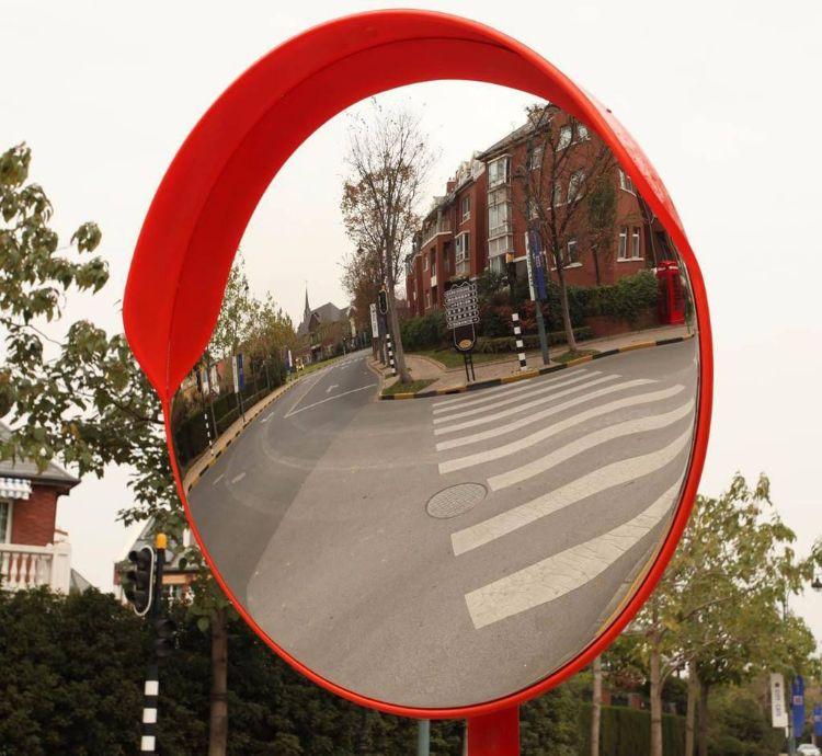 生产道路安全广角镜 转弯镜 凸面镜 室内室外球面镜 PC反光镜