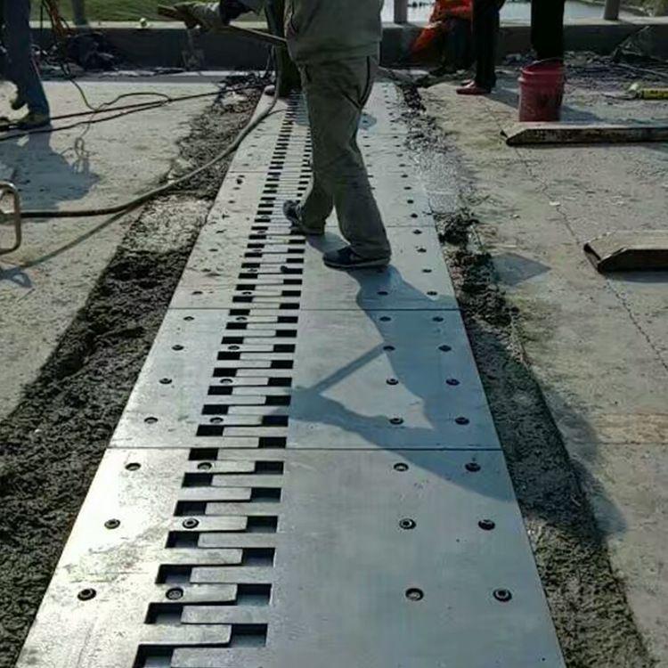 梳齿型钢板伸缩缝 SF梳齿型钢板伸缩缝厂家定做