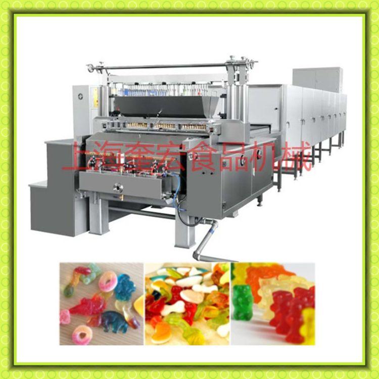 软糖糖果生产线/凝胶糖果浇注生产设备/软糖浇注成型机