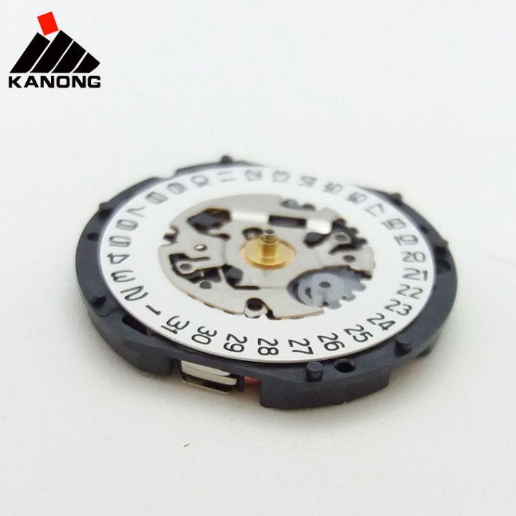 手表配件 日本原装品质 石英表机芯 精VX12E 三针 日历