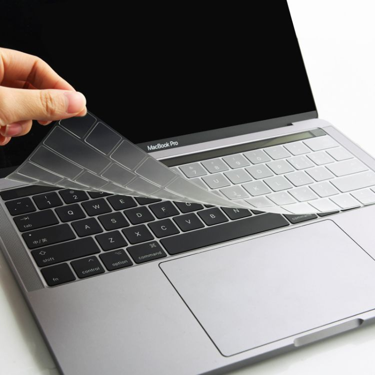 2016苹果笔记本电脑键盘膜Macbook12pro13寸15touch bar透明TPU膜