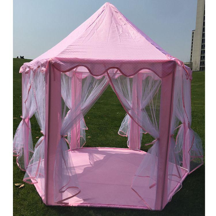 外贸出口公主帐篷女孩玩具屋公主城堡帐蓬游戏屋读书角