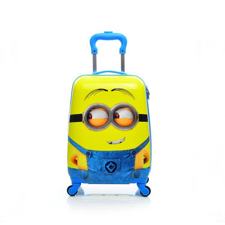 儿童拉杆箱18寸方形小学生旅行箱卡通登机影楼礼品箱学校赠品