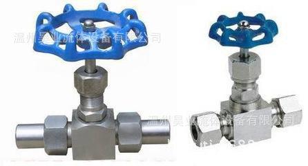 不锈钢卡套针型阀J23高温焊接304针型阀