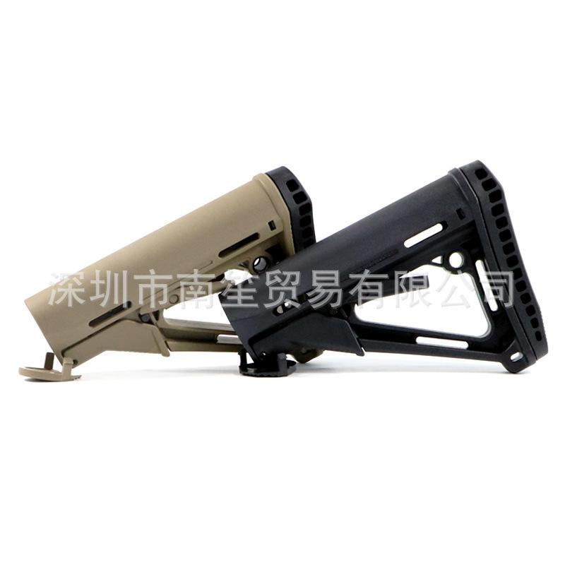 增高版CTR后托 玩具CTR尾托 AR15尼龙后托 锦明M4水弹后托 可出口