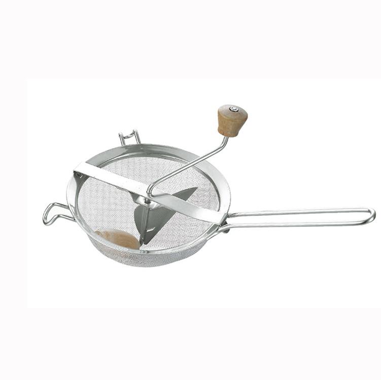 厨房专用不锈钢研磨器 家用手动搅蒜器 绞馅蒜蓉泥碎菜切菜器直销